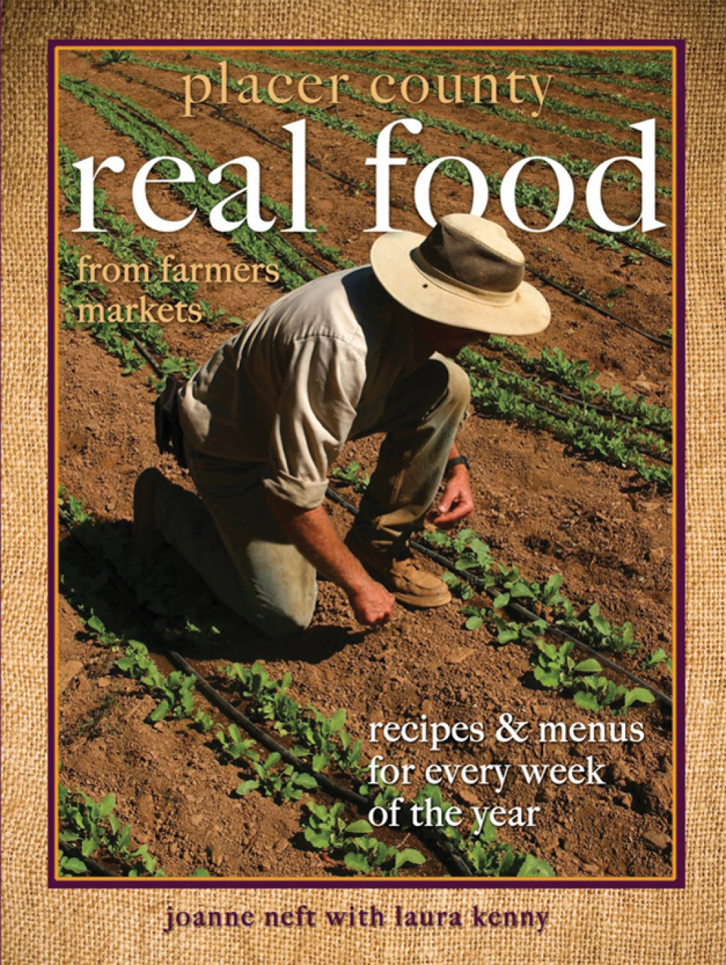 Placer County Real Food book cover