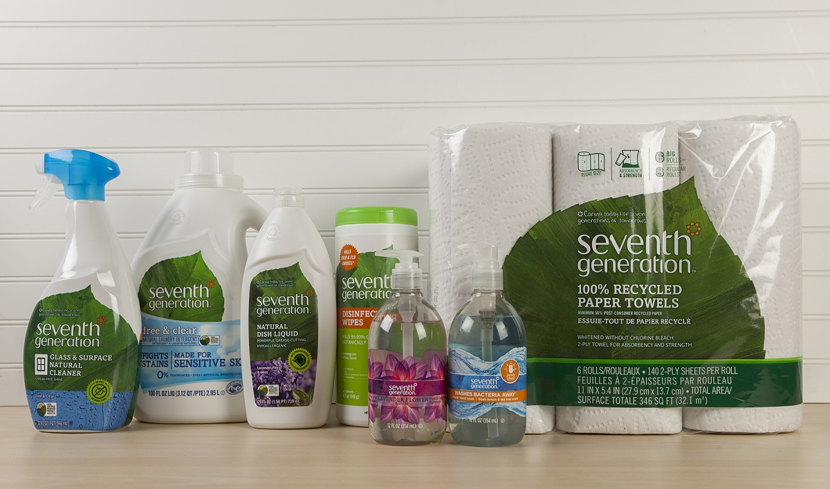 Seventh Generation line of products