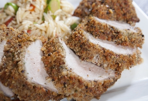 Fresh to Market Whiskey Fennel Crusted Pork Tenderloin