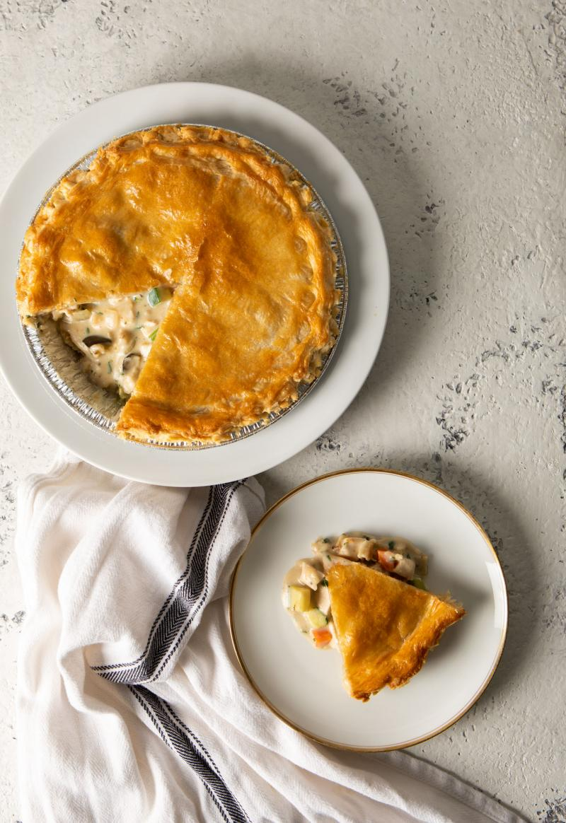 rotisserie chicken pot pie