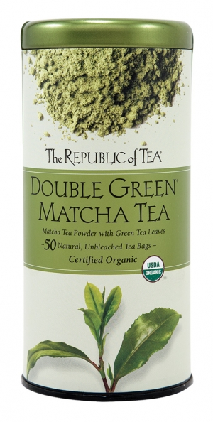 Matcha The star of the centuries–old Japanese tea ceremony, Matcha tea powder is ground from fine Japanese green tea leaves and its pleasant taste and health benefits make it a favorite of many tea lovers today. Try Double Green Matcha Tea.