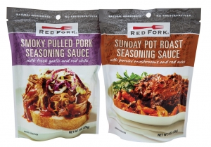 Red Fork's Sunday Pot Roast and Smoky Pulled Pork seasoning sauces