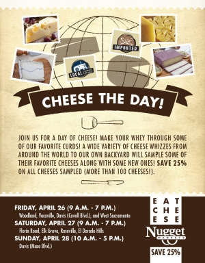 Nugget Markets Cheese The Day 2013 Flyer