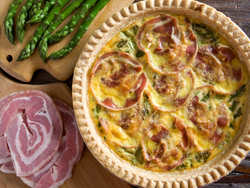 Chef prepared quiche