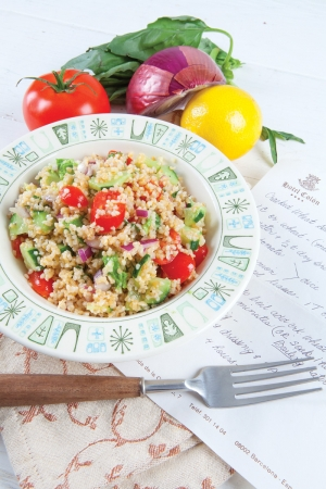 Evelyn's Cracked Wheat Salad