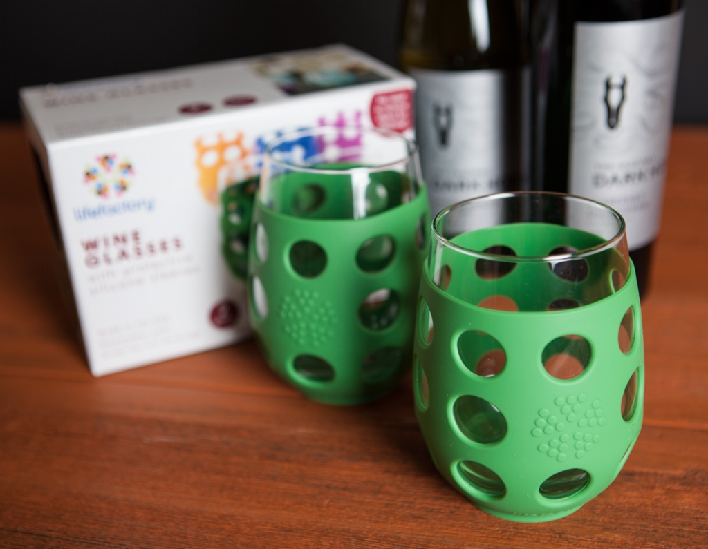 Lifefactory wine glasses