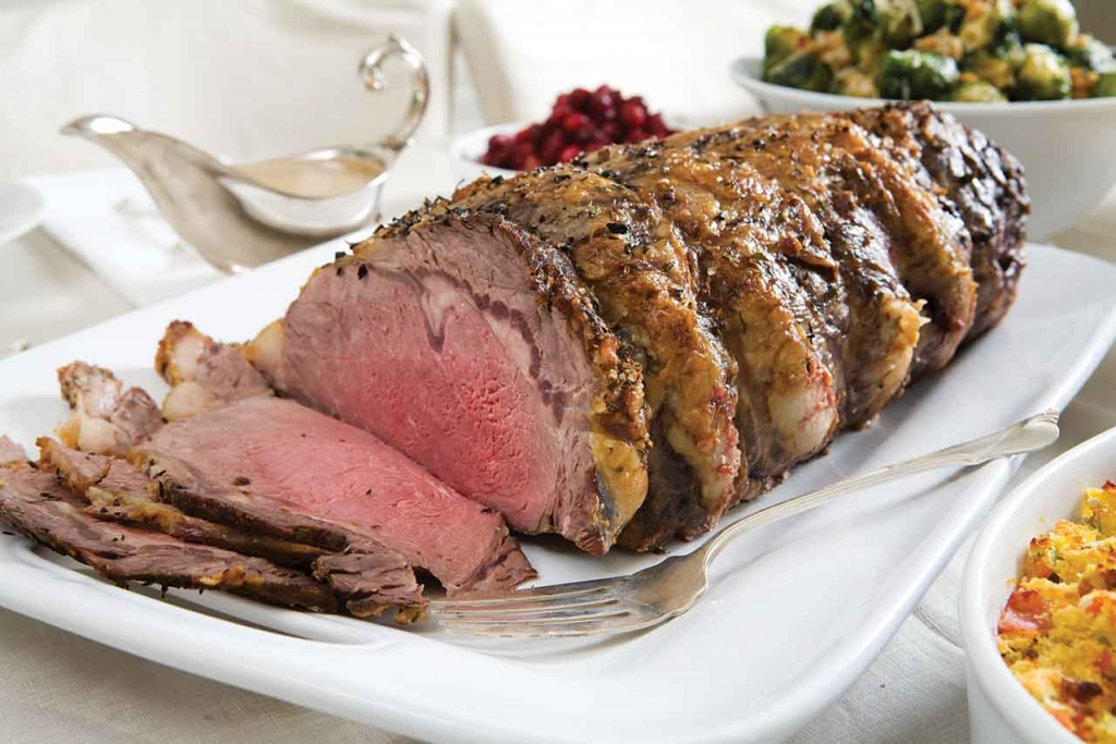 ... Seasoned Standing Rib Roast USDA Choice Nugget Markets Daily Dish