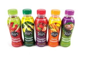 RAAW natural, premium fruit and vegetable juice blends