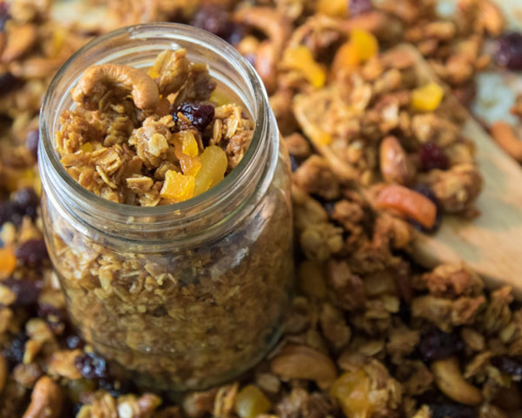 jar of trailblazin' granola
