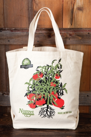Nugget Markets reusable canvas grocery bags