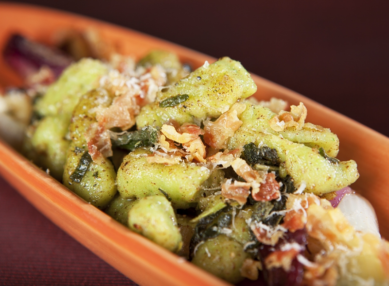 Bellwether Farms Ricotta and Spinach Gnocchi with Pancetta and Terra ...