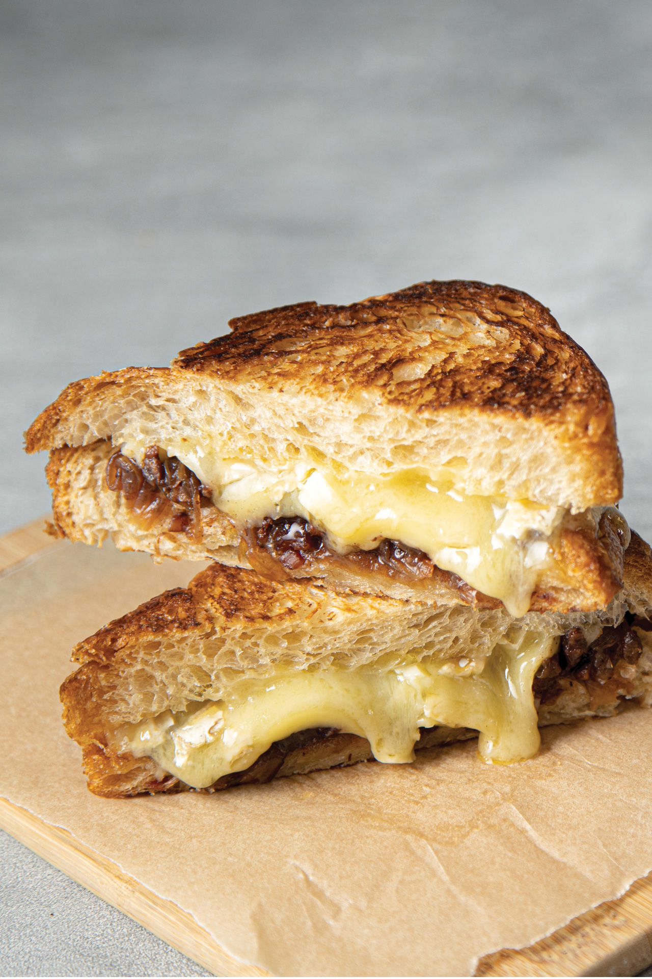 the baconian grilled cheese sandwich