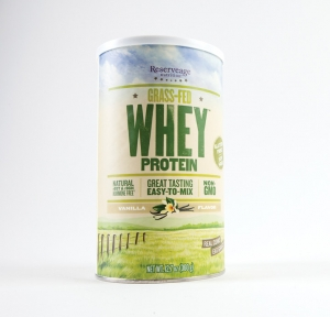 Reserveage's grass-fed whey protein powder