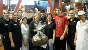 Jenny R. of Davis, Gift basket winner