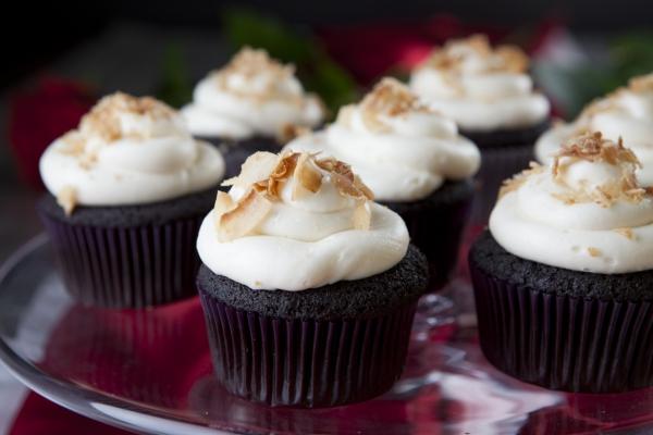 gluten free chocolate coconut cupcakes gluten free dark chocolate ...