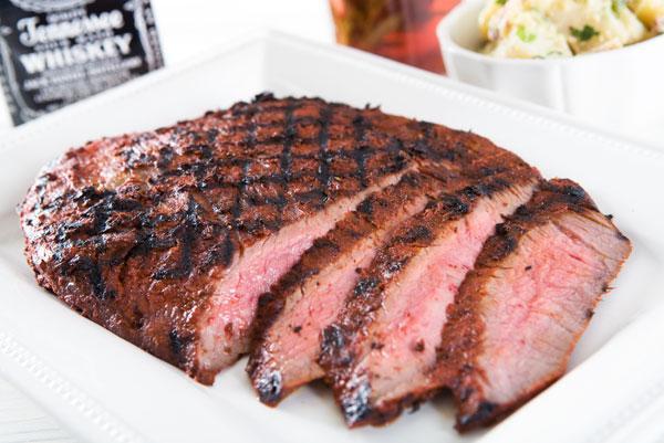 Nugget Markets Jack Daniels Achiote Flank Steak Recipe